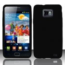 Soft Premium Silicone Case for Samsung Galaxy S II i777/i9100 (AT&T) - Black