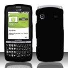 Hard Rubber Feel Plastic Case for Samsung Replenish M580 M580 - Black