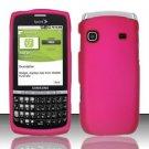 Hard Rubber Feel Plastic Case for Samsung Replenish M580 M580 - Pink