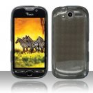 TPU Crystal Gel Case for HTC myTouch 4G (T-Mobile) - Smoke