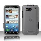 Hard Transparent Plastic Case for Motorola Defy MB525 (T-Mobile)