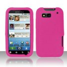 Soft Premium Silicone Case for Motorola Defy MB525 (T-Mobile) - Pink
