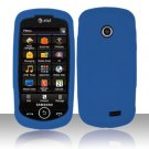Soft Premium Silicone Case for Samsung Solstice II A817 - Blue