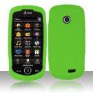 Soft Premium Silicone Case for Samsung Solstice II A817 - Neon Green