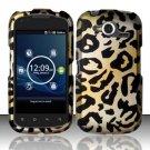 Hard Rubber Feel Design Case for Pantech Burst P9070 (AT&T) (AT&T) - Cheetah