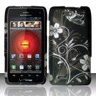Hard Rubber Feel Design Case for Motorola Droid 4 XT894 (Verizon) - Midnight Garden