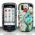 Hard Rubber Feel Design Case for Pantech Hotshot 8992 - Autumn Garden