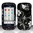 Hard Rubber Feel Design Case for Pantech Hotshot 8992 - Midnight Garden