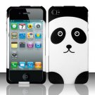 Hard Rubber Feel Design Case for Apple iPhone 4/4S - Panda