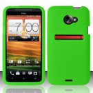 Soft Premium Silicone Case for HTC EVO 4G LTE (Sprint) - Green