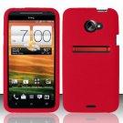 Soft Premium Silicone Case for HTC EVO 4G LTE (Sprint) - Red