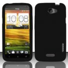 Soft Premium Silicone Case for HTC One X (AT&T) - Black