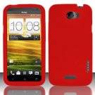 Soft Premium Silicone Case for HTC One X (AT&T) - Red