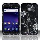 Hard Rubber Feel Design Case for Samsung Galaxy S II Skyrocket i727 (AT&T) - Midnight Garden