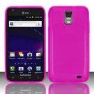 TPU Crystal Gel Case for Samsung Galaxy S II Skyrocket i727 (AT&T) - Pink