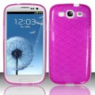 TPU Crystal Gel Case for Samsung Galaxy S3 III i9300 - Pink