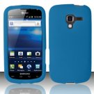 Soft Premium Silicone Case for Samsung Exhilarate i577 (AT&T) - Blue