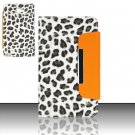 Leather Magnetic Flap Pouch for Samsung Galaxy S3 III i9300 - Snow Leopard