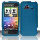Soft Premium Silicone Case for HTC DROID Incredible 4G LTE (Verizon) - Blue