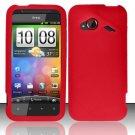 Soft Premium Silicone Case for HTC DROID Incredible 4G LTE (Verizon) - Red