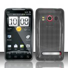 TPU Crystal Gel Case for HTC EVO 4G (Sprint) - Smoke