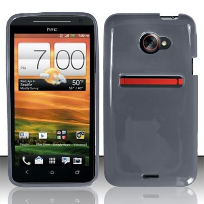 TPU Crystal Gel Case for HTC EVO 4G LTE (Sprint) - Smoke
