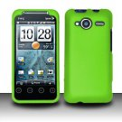Hard Rubber Feel Plastic Case for HTC EVO Shift 4G - Green