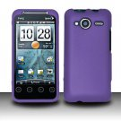 Hard Rubber Feel Plastic Case for HTC EVO Shift 4G - Purple