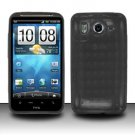 TPU Crystal Gel Case for HTC Inspire 4G/Desire HD - Smoke