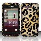 Hard Rubber Feel Design Case for HTC Rhyme (Verizon) - Cheetah
