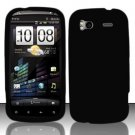 Soft Premium Silicone Case for HTC Sensation 4G (T-Mobile) - Black