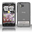 Hard Transparent Plastic Case for HTC ThunderBolt 4G (Verizon)
