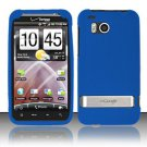 Soft Premium Silicone Case for HTC ThunderBolt 4G (Verizon) - Blue
