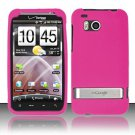 Soft Premium Silicone Case for HTC ThunderBolt 4G (Verizon) - Pink