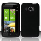 Soft Premium Silicone Case for HTC Titan II (AT&T) - Black