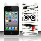 TPU Crystal Gel Cartoon Case for Apple iPhone 4/4S - Silly Zombie