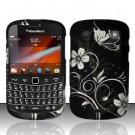 Hard Rubber Feel Design Case for Blackberry Bold Touch 9900/9930 - Midnight Garden