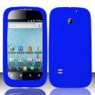 Soft Premium Silicone Case for Huawei Ascend II M865 - Blue