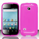 TPU Crystal Gel Case for Huawei Ascend II M865 - Pink