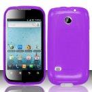 TPU Crystal Gel Case for Huawei Ascend II M865 - Purple