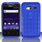 TPU Crystal Gel Case for Huawei Activa 4G - Blue