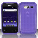 TPU Crystal Gel Case for Huawei Activa 4G - Purple