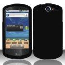 Hard Rubber Feel Plastic Case for Huawei Impulse 4G (T-Mobile) - Black
