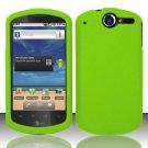 Hard Rubber Feel Plastic Case for Huawei Impulse 4G (T-Mobile) - Green