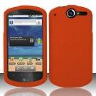 Hard Rubber Feel Plastic Case for Huawei Impulse 4G (T-Mobile) - Orange