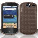 TPU Crystal Gel Case for Huawei Impulse 4G (T-Mobile) - Smoke