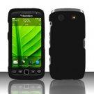 Hard Rubber Feel Plastic Case for Blackberry Torch 9850/9860 - Black
