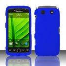 Hard Rubber Feel Plastic Case for Blackberry Torch 9850/9860 - Blue