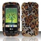 Hard Rhinestone Design Case for LG Cosmos Touch VN270 (Verizon) - Cheetah