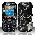 Hard Rubber Feel Design Case for LG Cosmos 2 VN251 (Verizon) - Midnight Garden